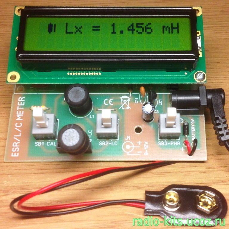 Прибор для проверки электролитических конденсаторов ...